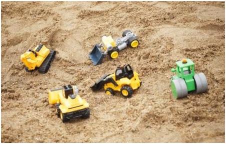 чистый и качественный песок для песочницы - основной компонент детской конструкции для игр