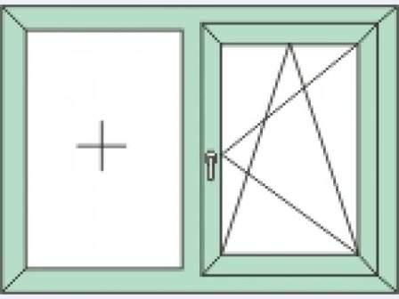 точная схема окна