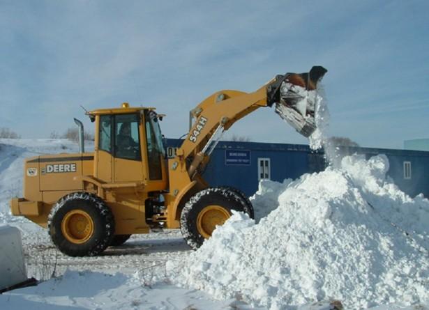 Скребок для уборки снега с крыш berchouse