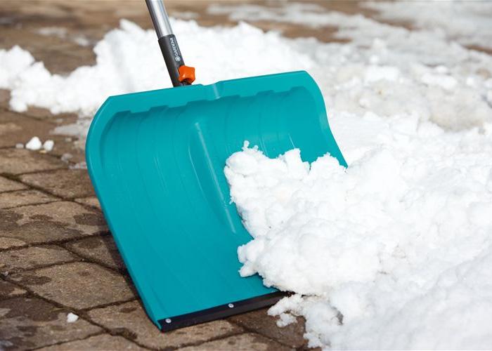 Движки уборки снега пластиковые
