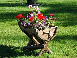 Сад цветочный своими руками