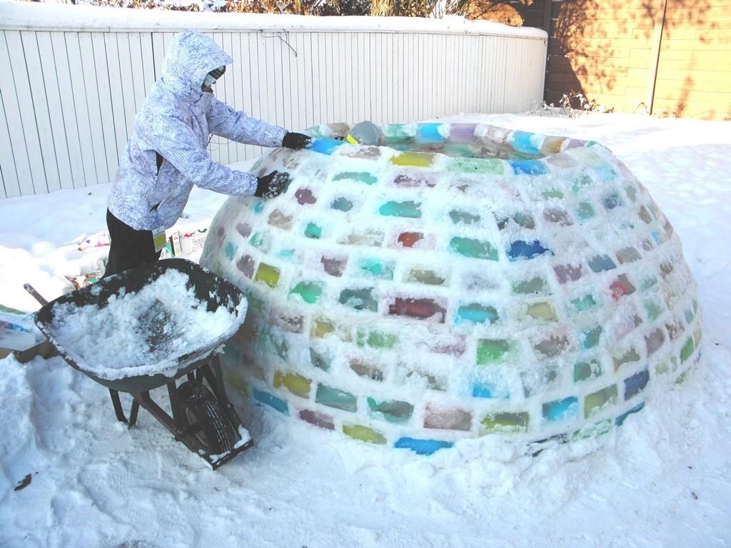 Домики ледяные своими руками фото 449