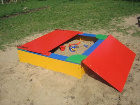 при выборе песочницы обратите внимание на качество, практичность и безопасность