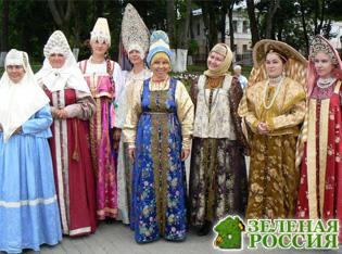 Символические атрибуты в одежде различных народов