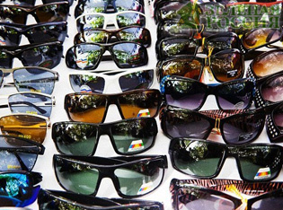 Эксперты установили, что дорогие солнцезащитные очки не лучше дешевых