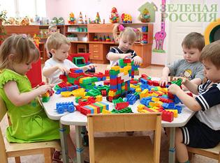 Проблема детских садов в России