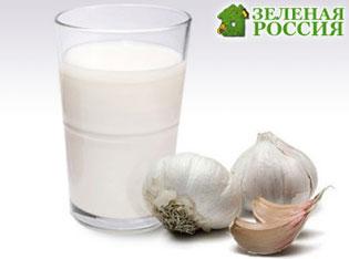 Молоко с чесноком лучшее средство от гипертонии