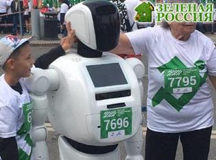 Российский робот первым в мире принял участие в беговом марафоне