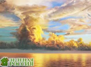 Природа предупреждает людей о стихии