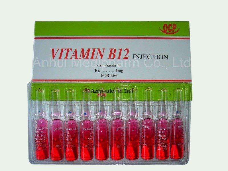 витамин B12 в ампулах инструкция по применению - фото 6
