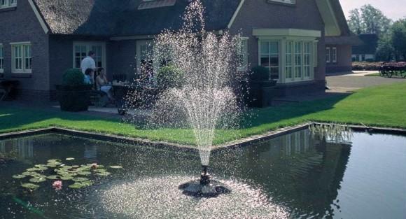 Где приобрести фонтан для водоема?