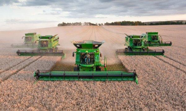Где собирают качественные зерноуборочные комбайны?