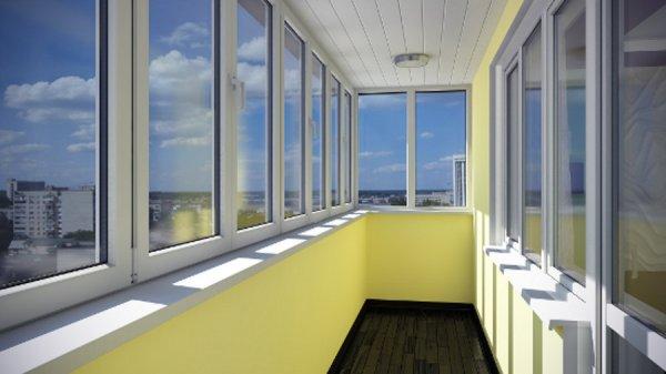 Остекление лоджии и балконов