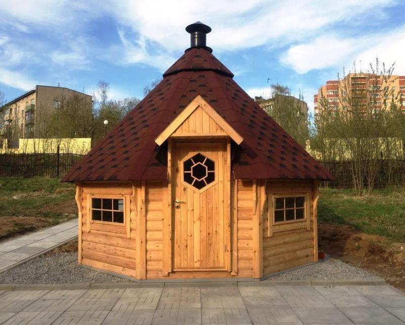 История гриль домиков из Скандинавии